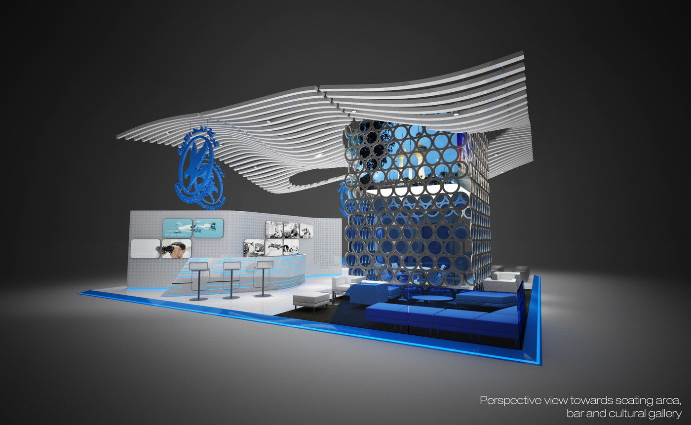 Kuwait Oil Company Booths - 2013 by Daniele Chiocchio at