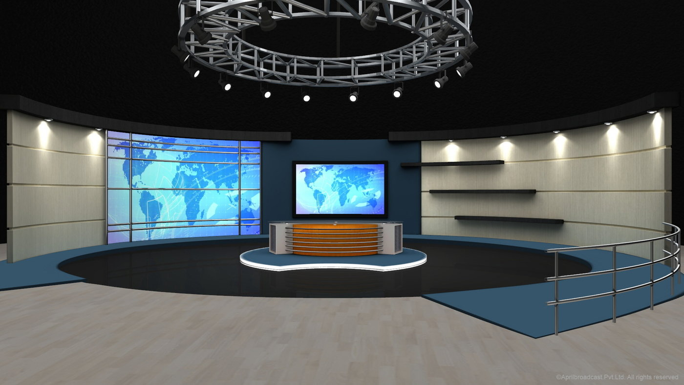 3D Virtual Set for Ross Xpression Studio by rekha santosh at