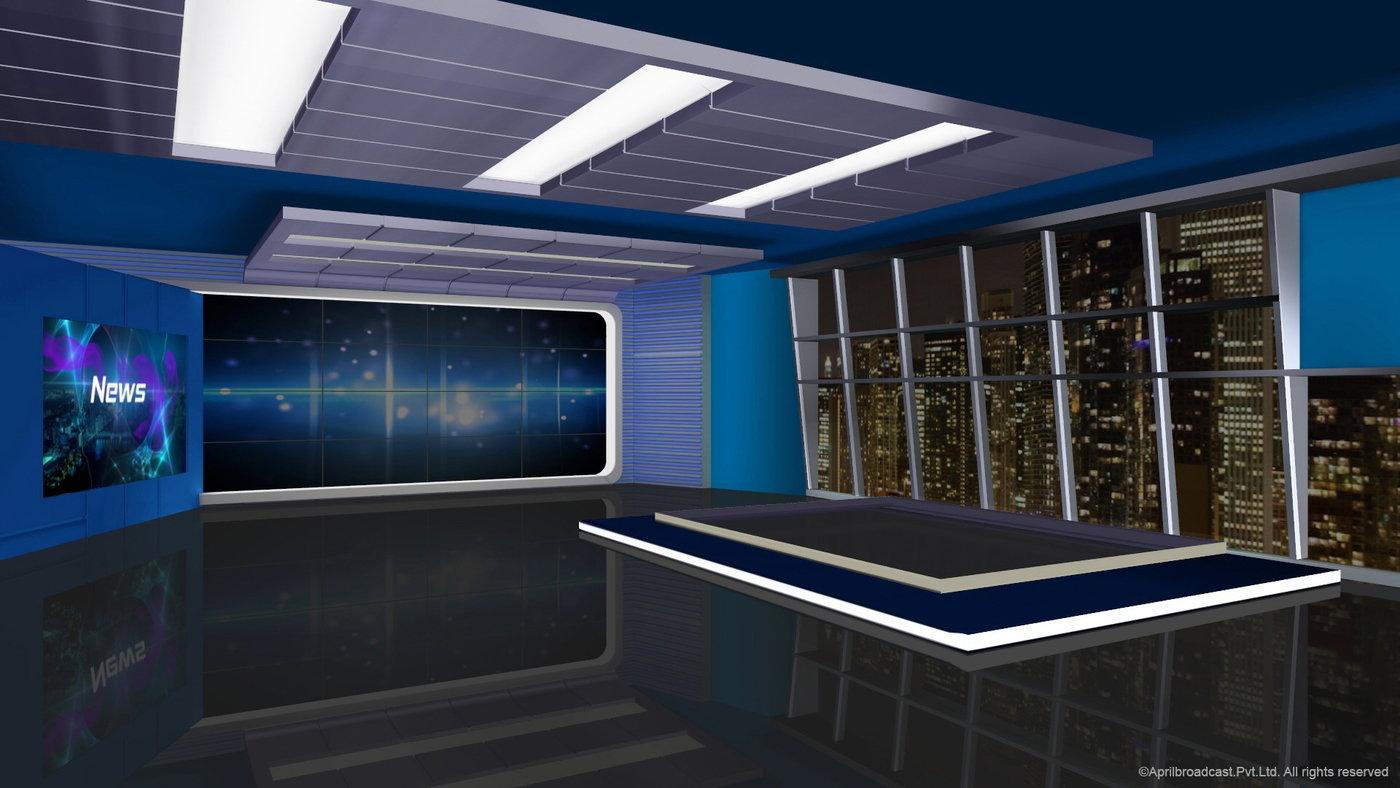 3d Virtual Set For Ross Xpression Studio By Rekha Santosh