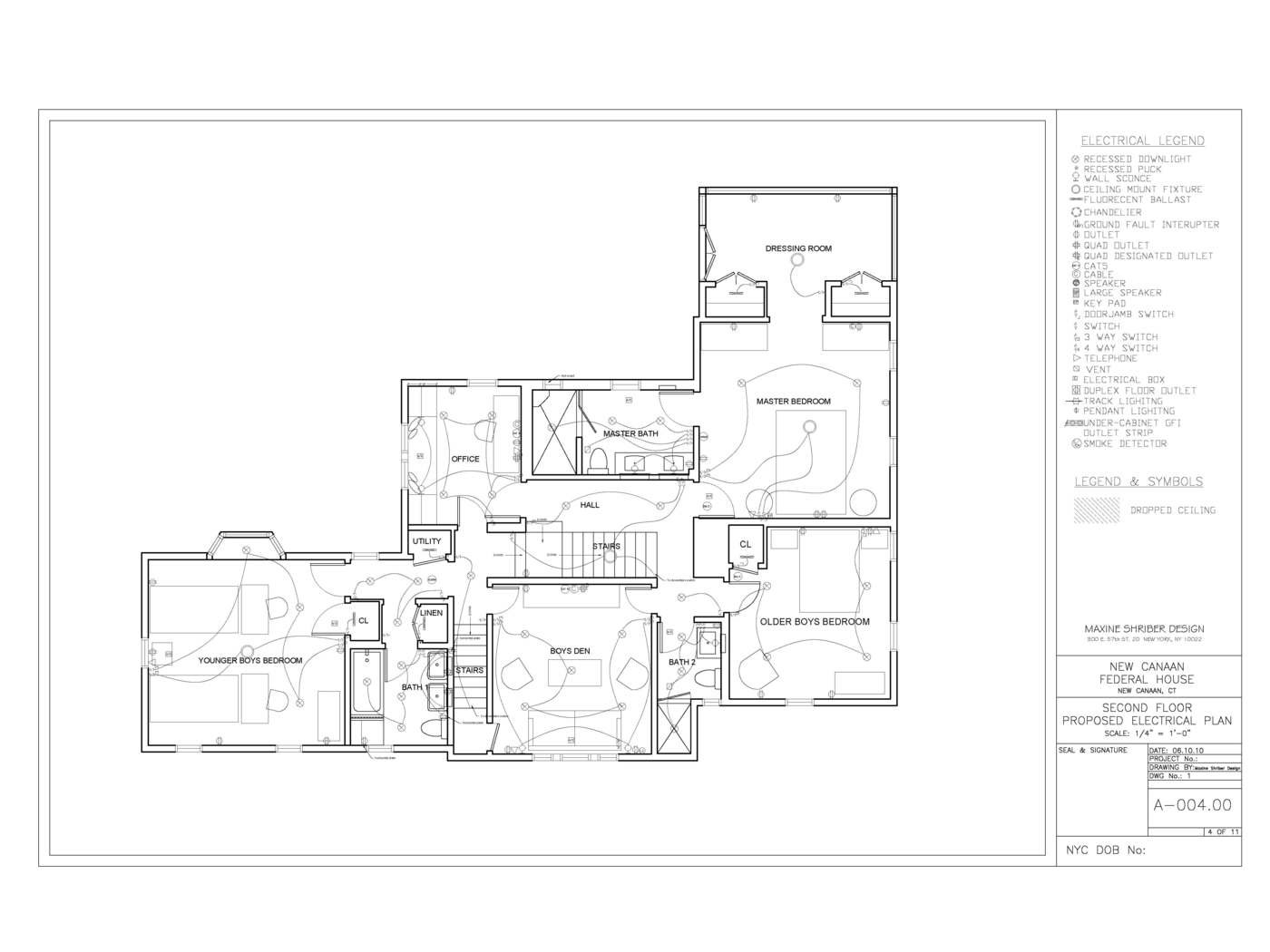 New Canaan Federal Home By Jena Haywood Leed Ap At 4 Way Switch Electrical Plan Second Fl Proposed