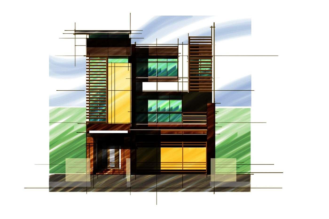9048123bf6c Archie Tolentino. 2-Storey Residential Schematic - Single-detached  Schemantic