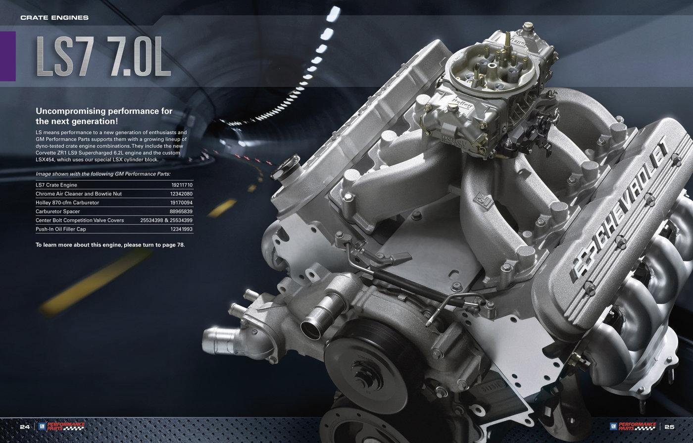 GM Performance Parts Catalog by Richard Rae at Coroflot com