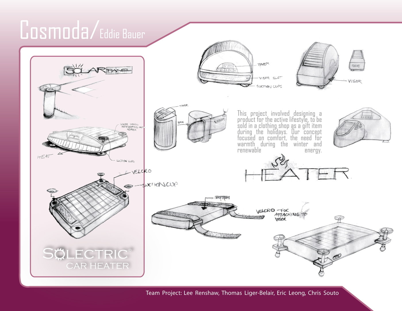 Solar Car Heater By Thomas Liger Belair At Diagram