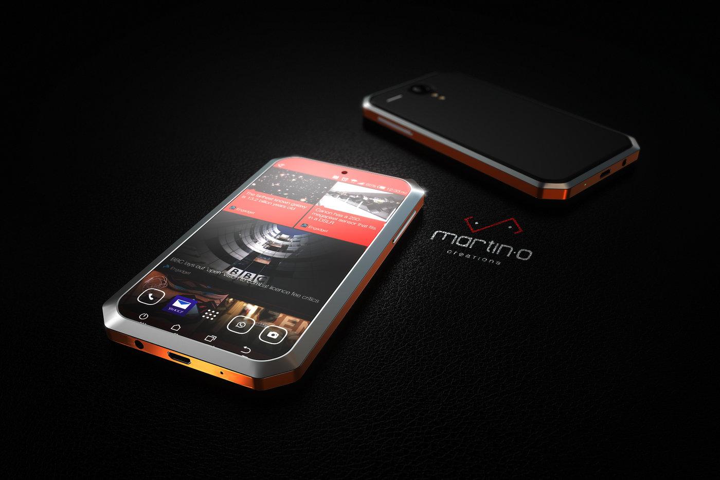 Mobile Phone Design for Axiom Telecom, Dubai by Martin Ortiz