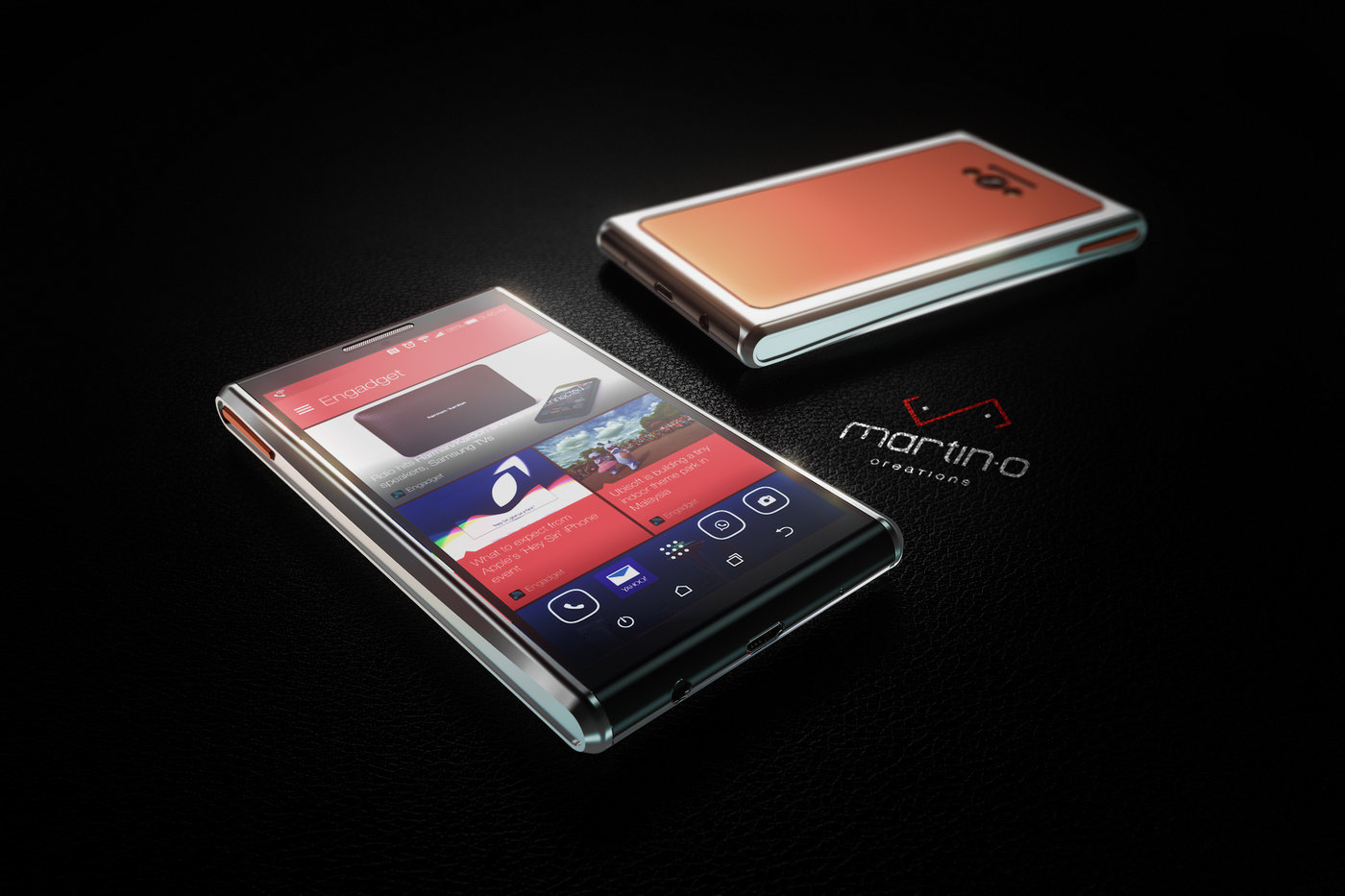 Mobile Phone Design for Axiom Telecom, Dubai by Martin Ortiz