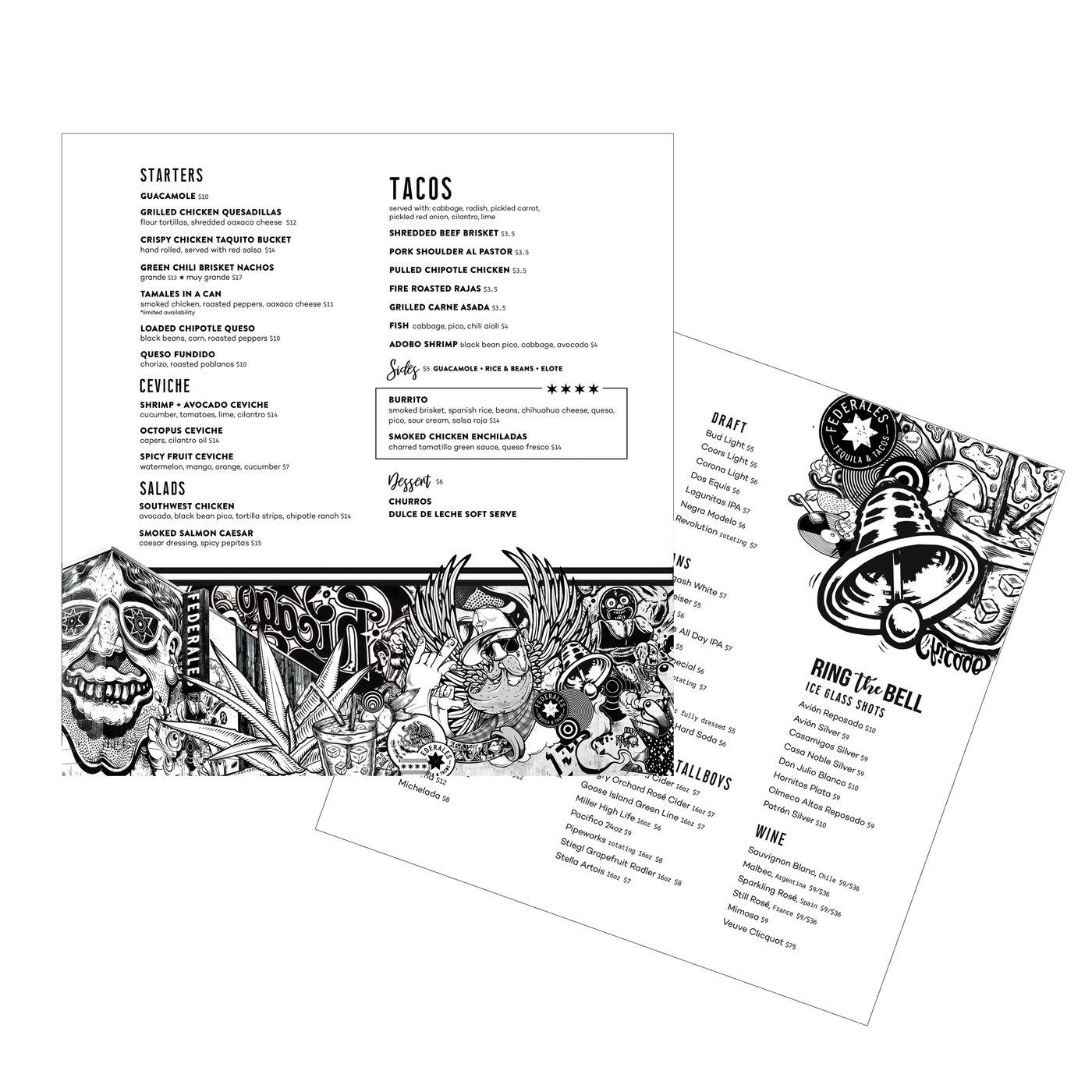 Menu Design by Joshua Atterberry at Coroflot com