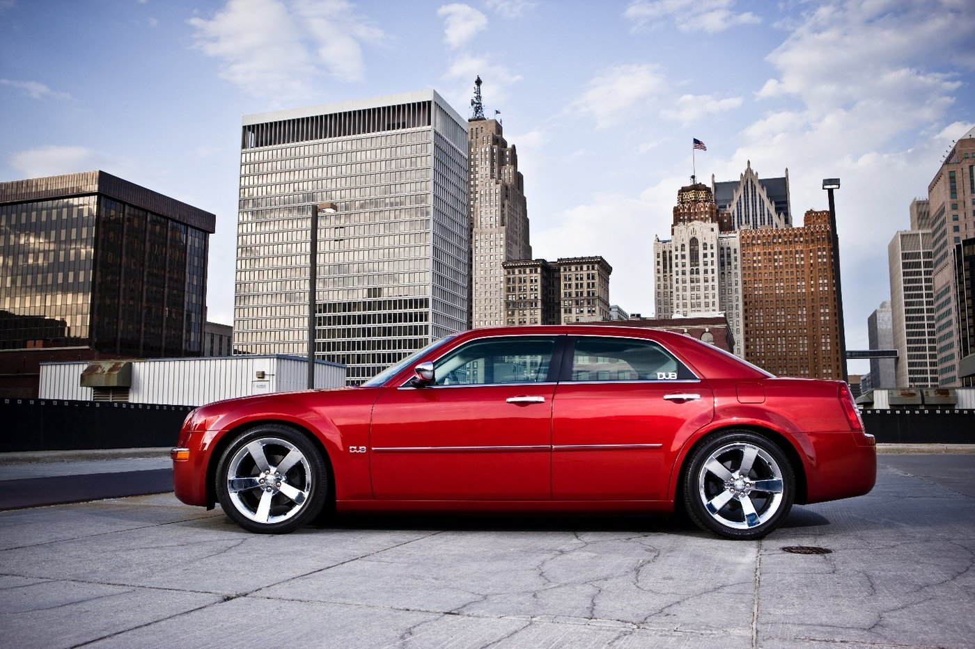 Everything From Location To Retouching Angles The Photos Were Used In Dub Magazine Show 2008 Chrysler 300 Edition