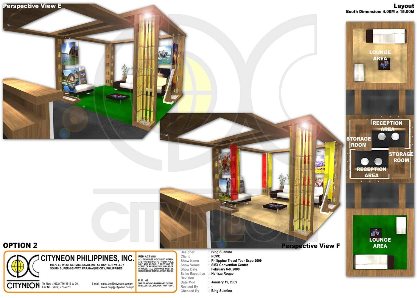 Philippine Department of Tourism by Bing Suanino at Coroflot.com