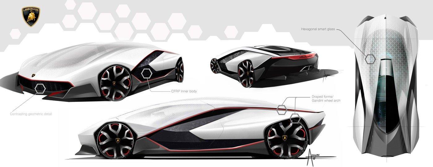 Lamborghini Essenza By Alex Alexiev At Coroflot Com