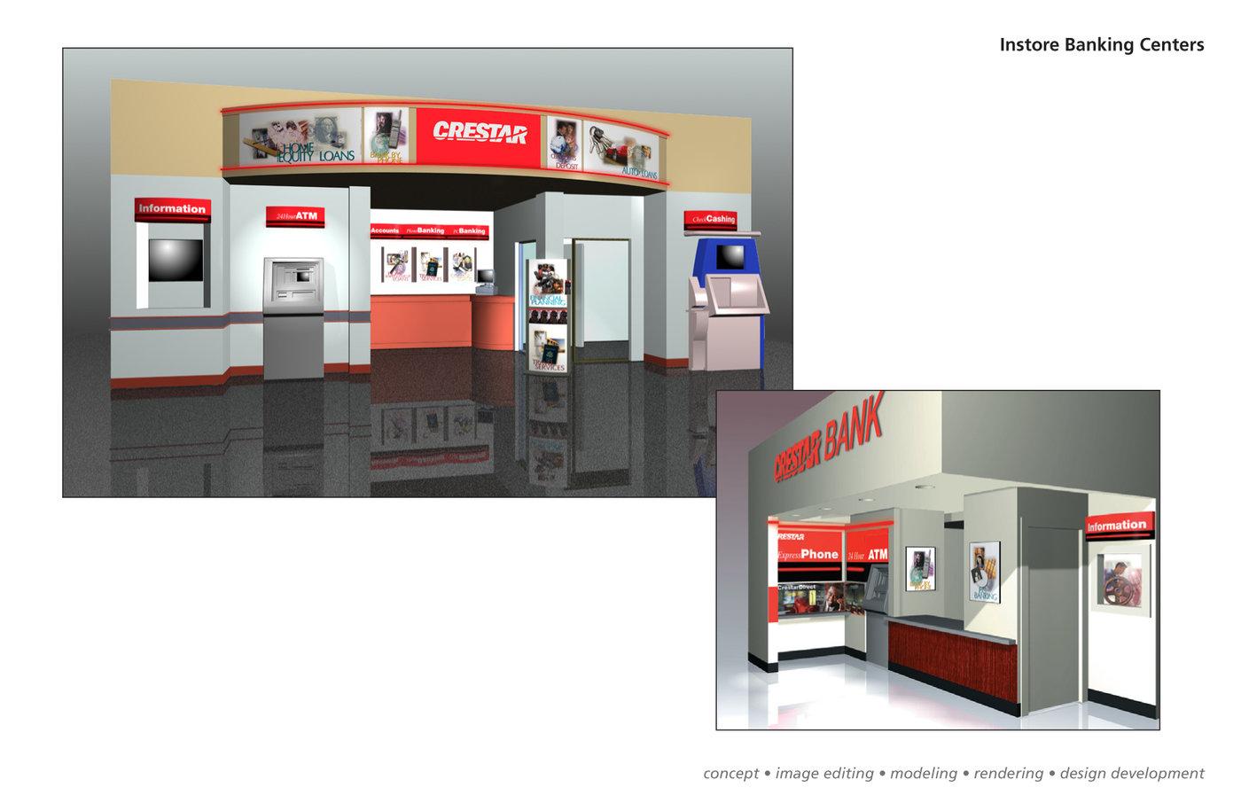 Instore-Remote Banking by Allan Amioka at Coroflot.com