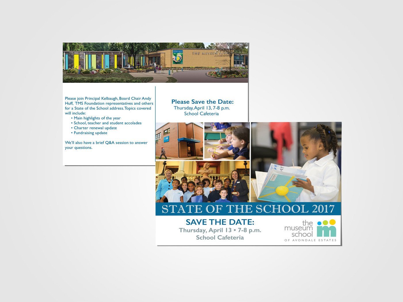 Tms State Of School Postcard By Kristin Coleman At Coroflot Com