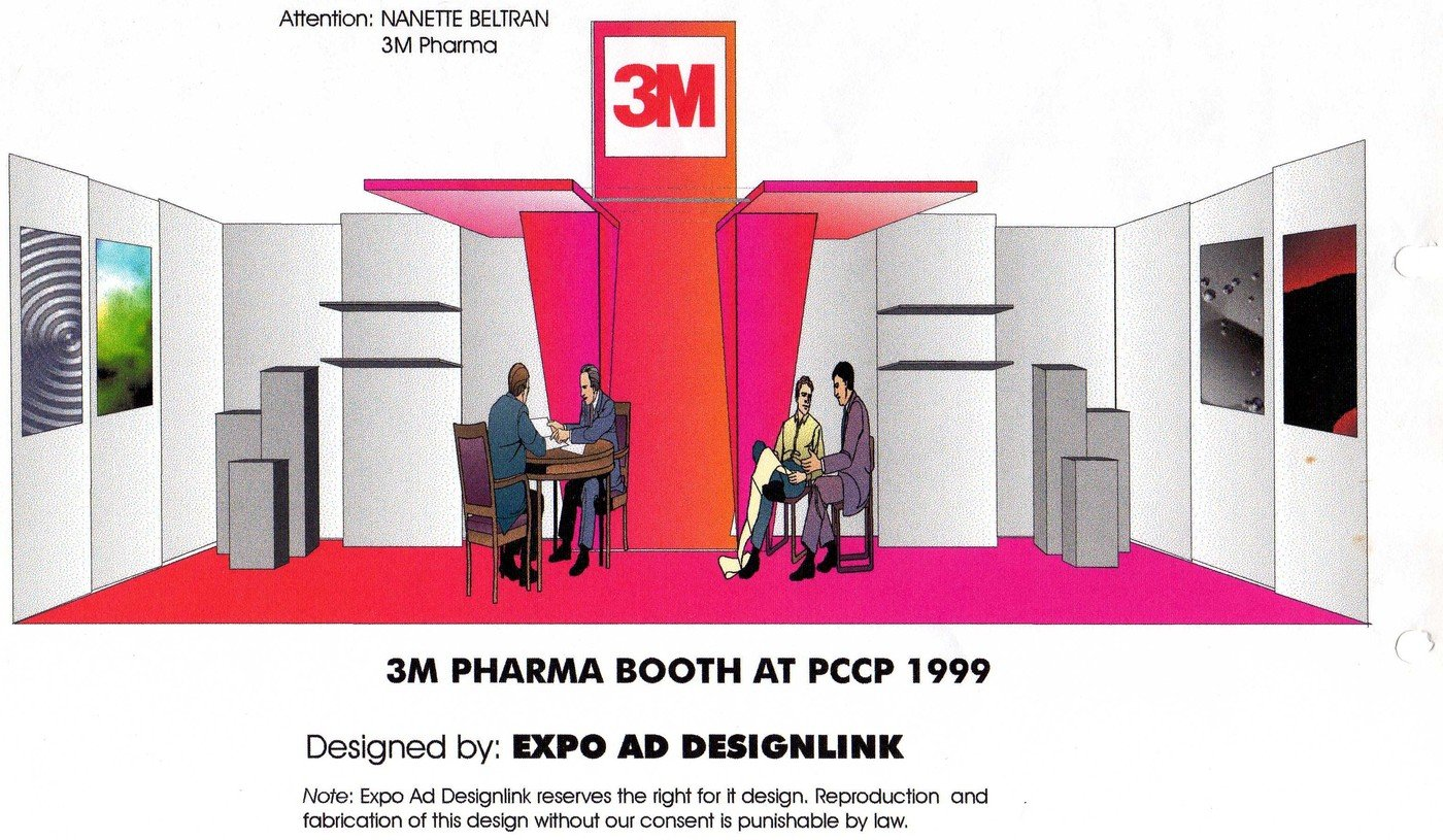 3m booth designs by francis fernandez at for Certified kitchen and bath designer salary