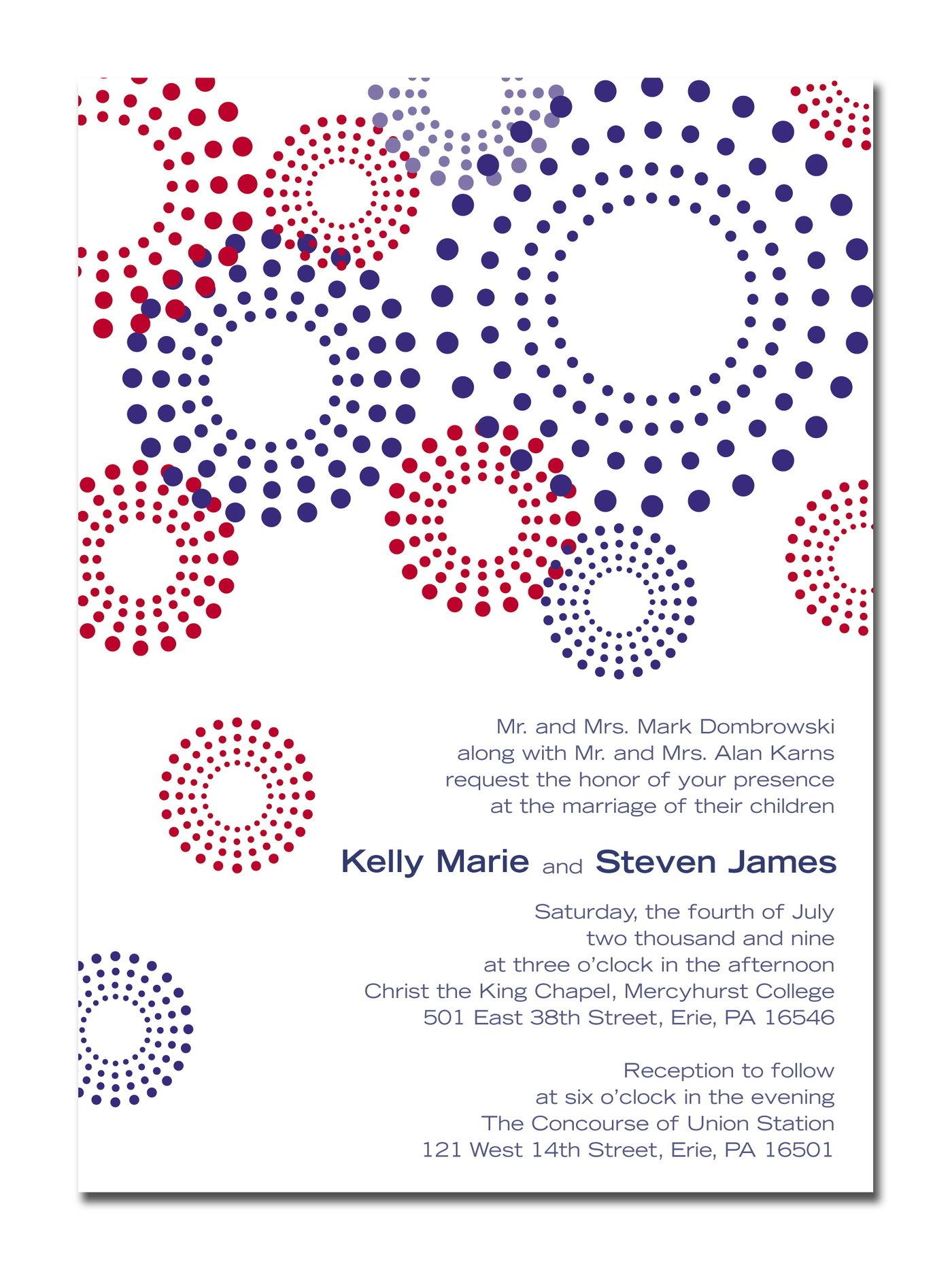 Invitations by Lauren Beck at Coroflot.com