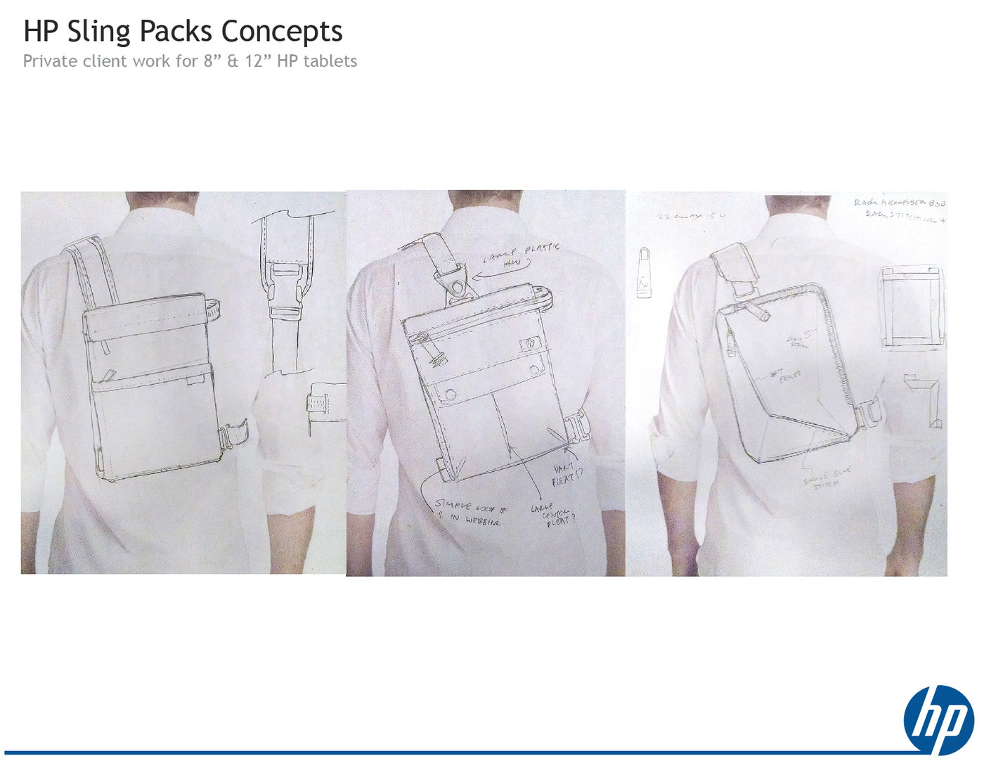Hp Tablet Sling Concepts By Seton Spadt At Coroflot Com