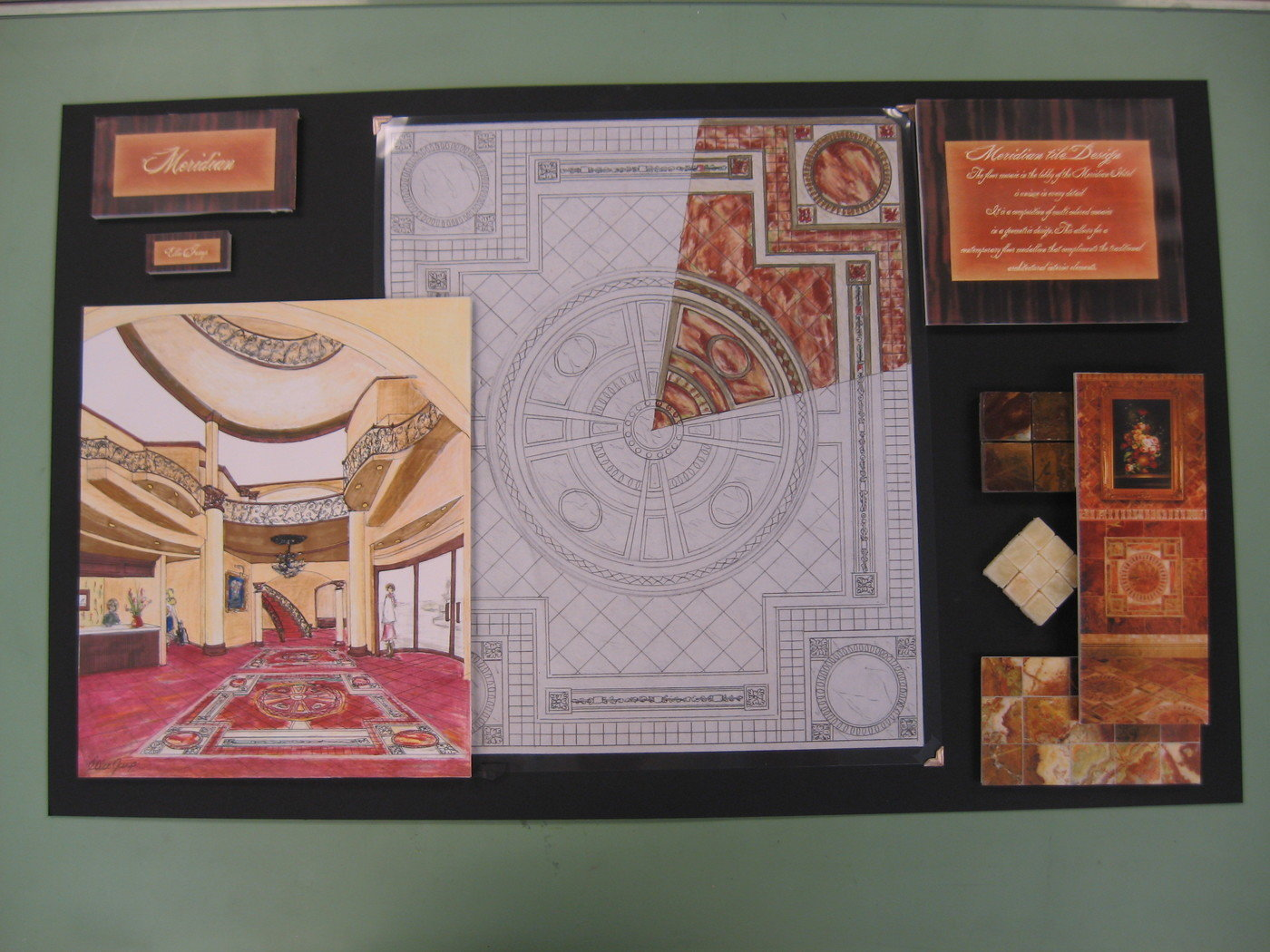 Design Boards and Presentation Layout by Ellie McIntosh at Coroflot.com