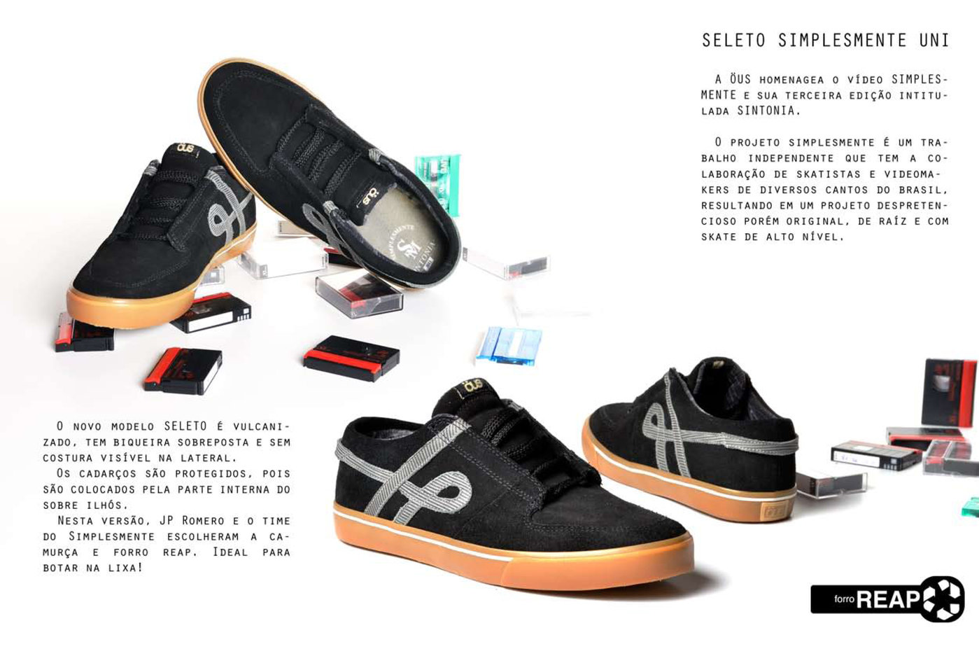 ÖUS SELETO - skateboard shoe by Rafael
