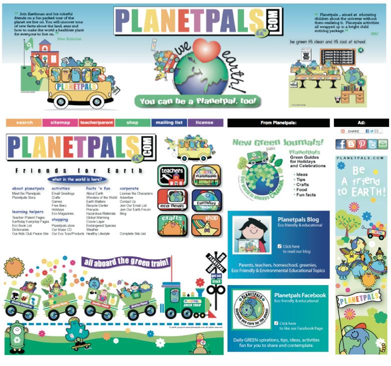 PLANETPALS™ by Judith Gorgone at Coroflot com