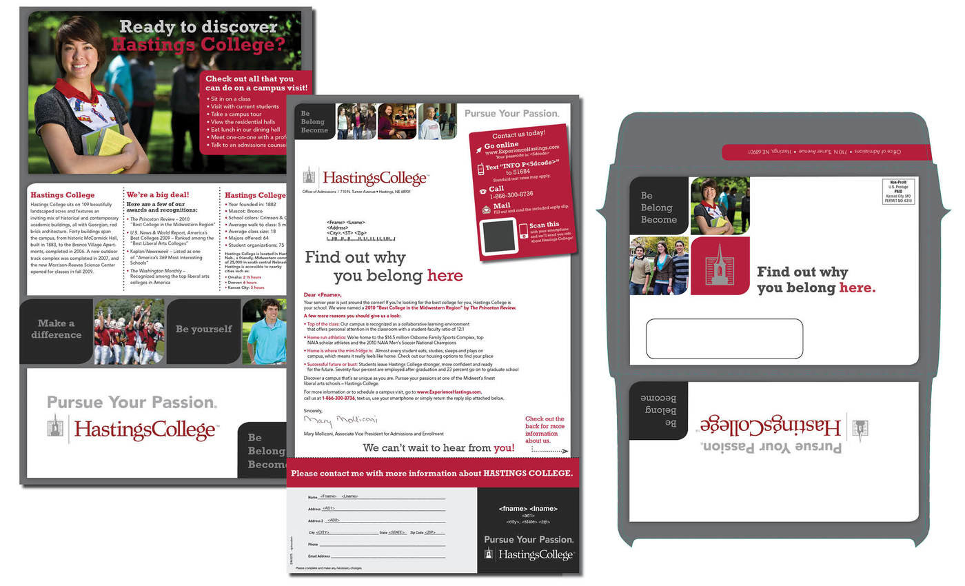 brochures and direct mail by danielle hendrickson at