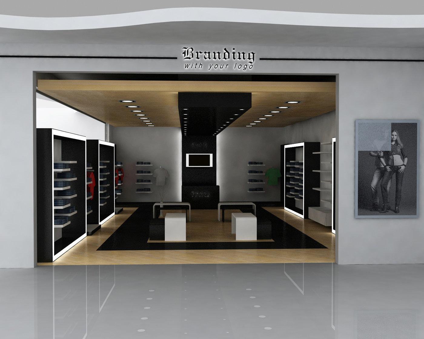 Elegant Retail Store Design