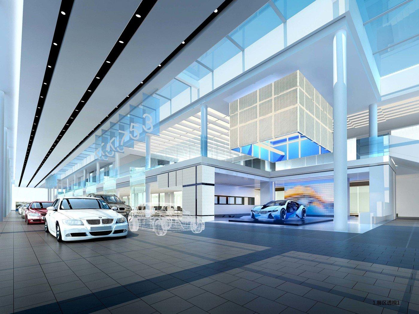 San Francisco Bmw >> Changsha BMW 4S Shop by Mann Leung at Coroflot.com