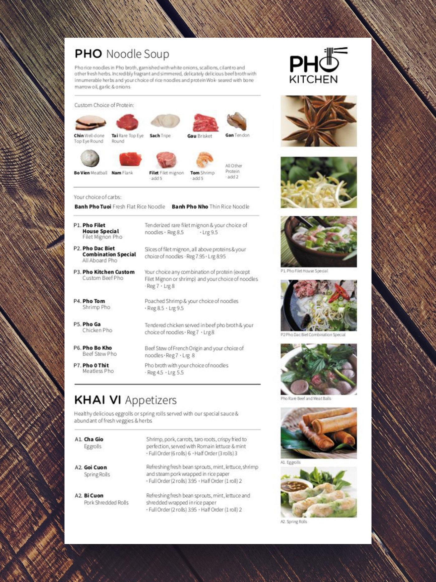 Pho Kitchen Brand By Sara Jenner At Coroflot Com