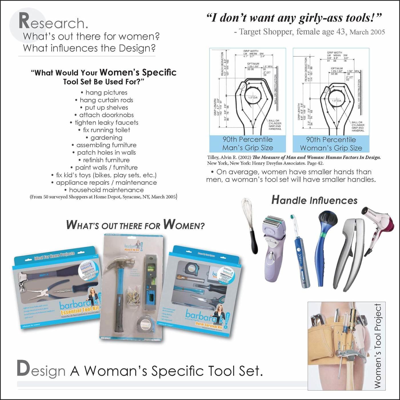 womens tool set by jillian kampf at coroflot com
