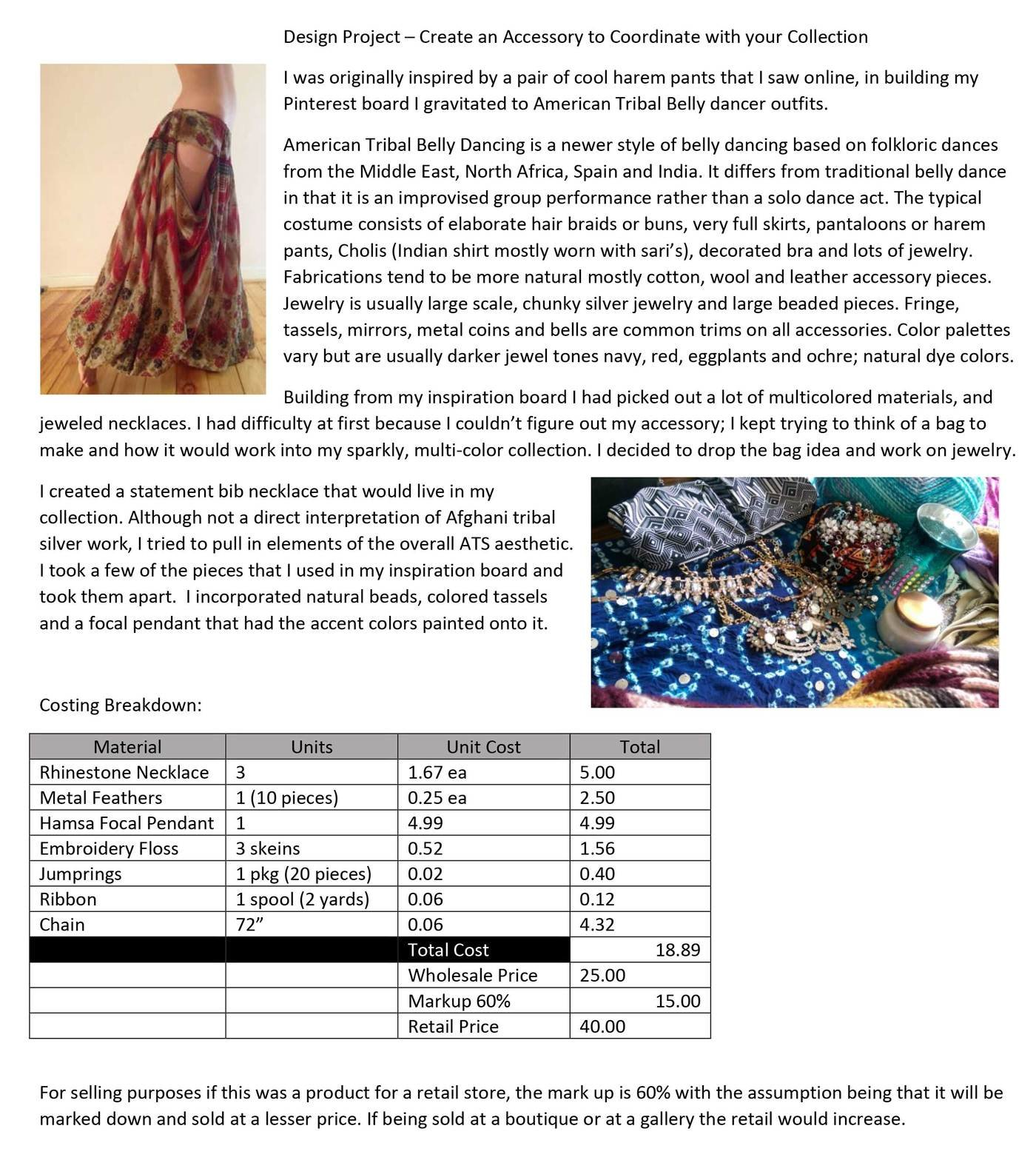 Admirable Parsons Fashion Certificate Project By Chrystal A Ward At Interior Design Ideas Clesiryabchikinfo