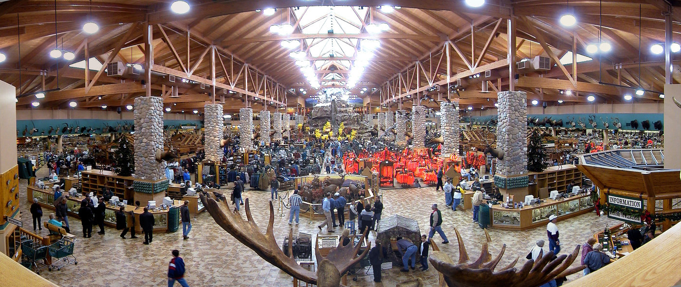 Cabelas dundee michigan by robert hooper at - Interior design jobs in michigan ...