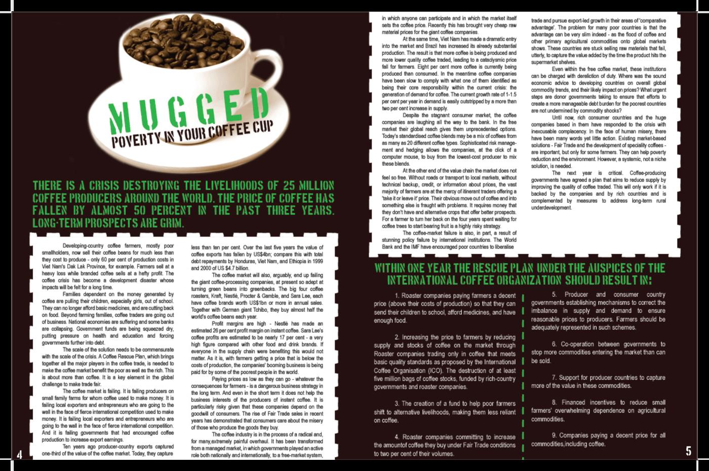 Make Trade Fair Magazine by Meredith Barber at Coroflot com