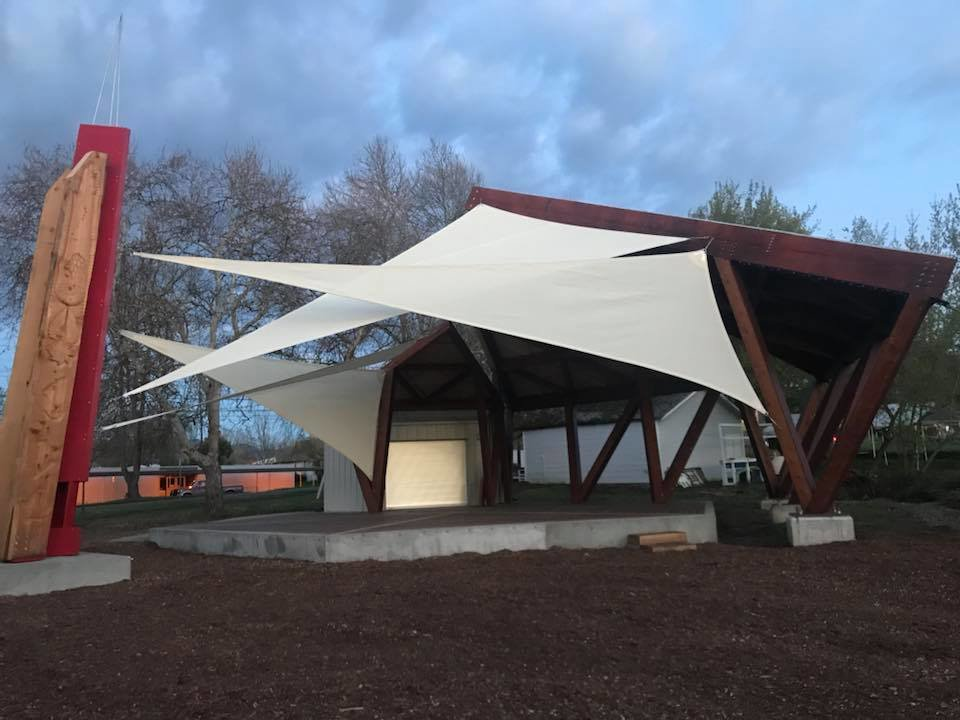 SOU Thalden Pavilion Shade Sails by Nick Crylen at Coroflot com