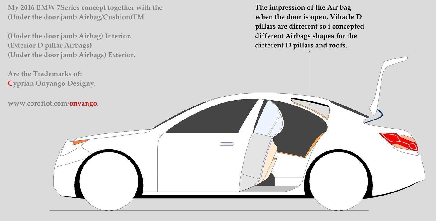 Car Door Jamb Enter Your Description Here(Under The Jamb Slim Airbag ...