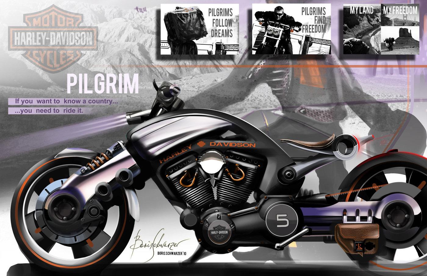 Harley-Davidson Pilgrim 2020 by Boris Schwarzer at ...