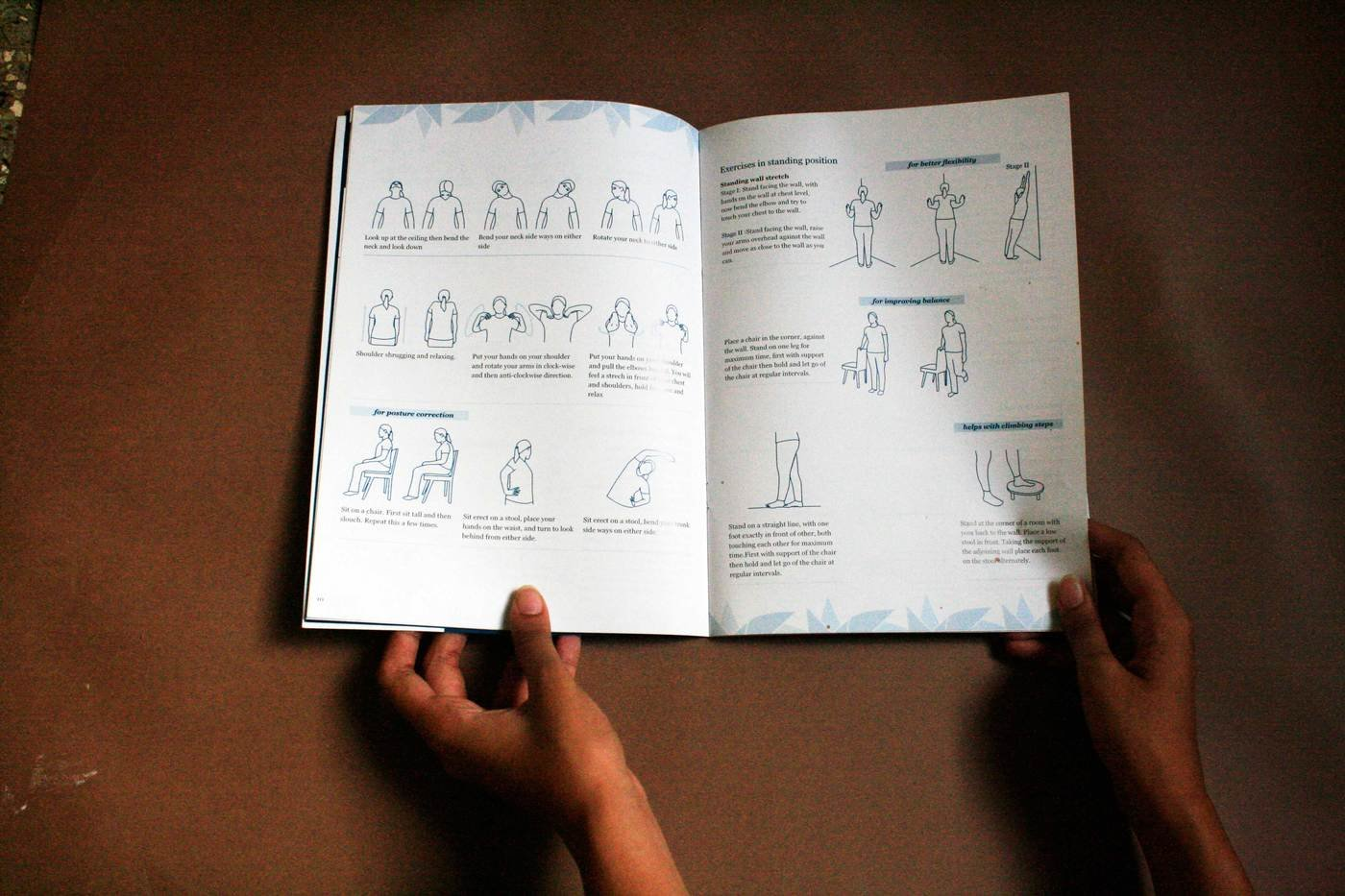 Parkinsons Exercise Manual by Alannah Dsouza at Coroflot com