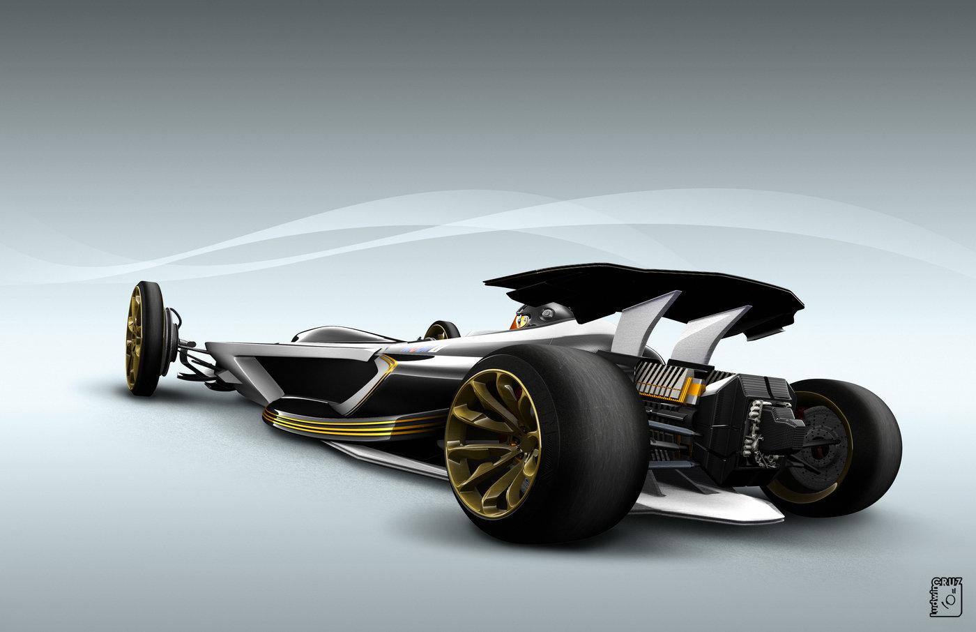 Future F1 Concept By Ludwin Cruz At Coroflot Com
