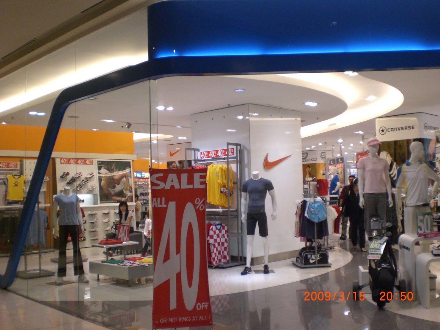 254ff2df3 Planet Sports Boutique at Grand Indonesia Mall by WIDE.interior ...