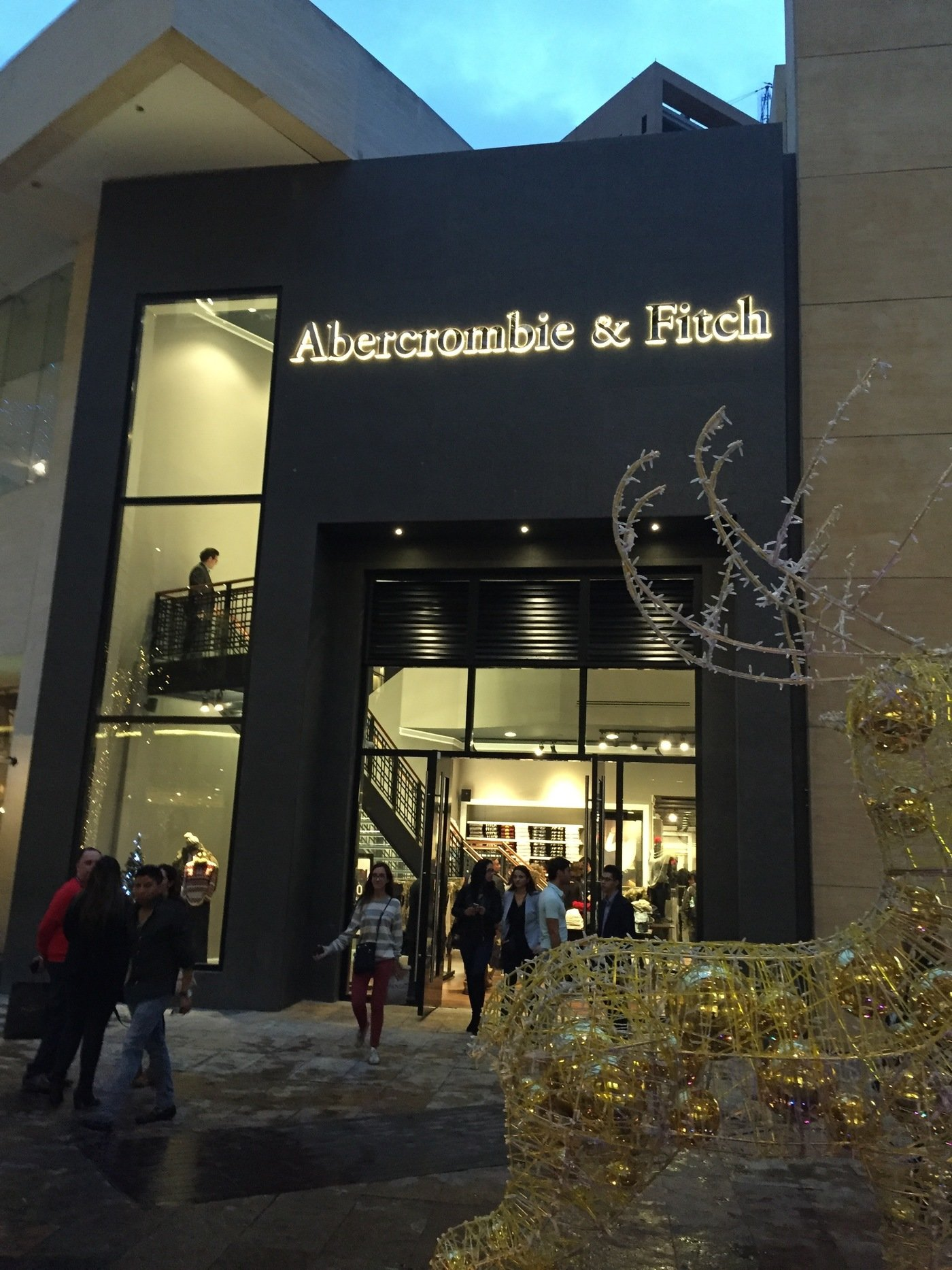 Retail abercrombie fitch by jason welker at - Interior design jobs in michigan ...