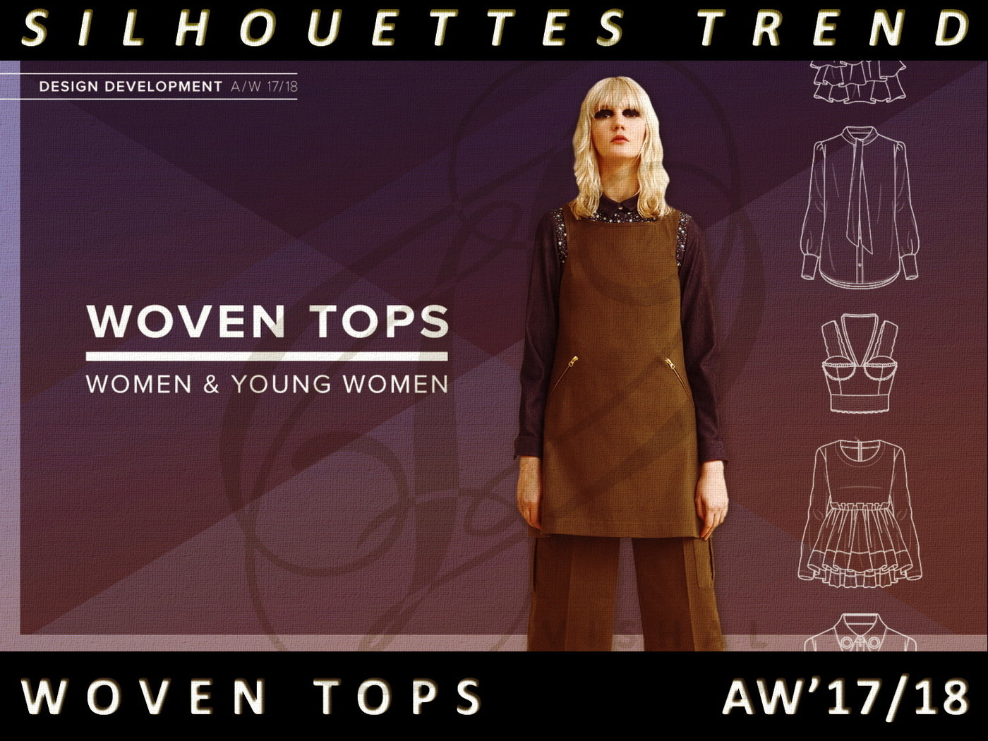 037e375d974cb WOMEN S WEAR-AUTUMN WINTER 2017 2018 TREND FORECAST ANALYSIS by Vishal  Anand at Coroflot.com