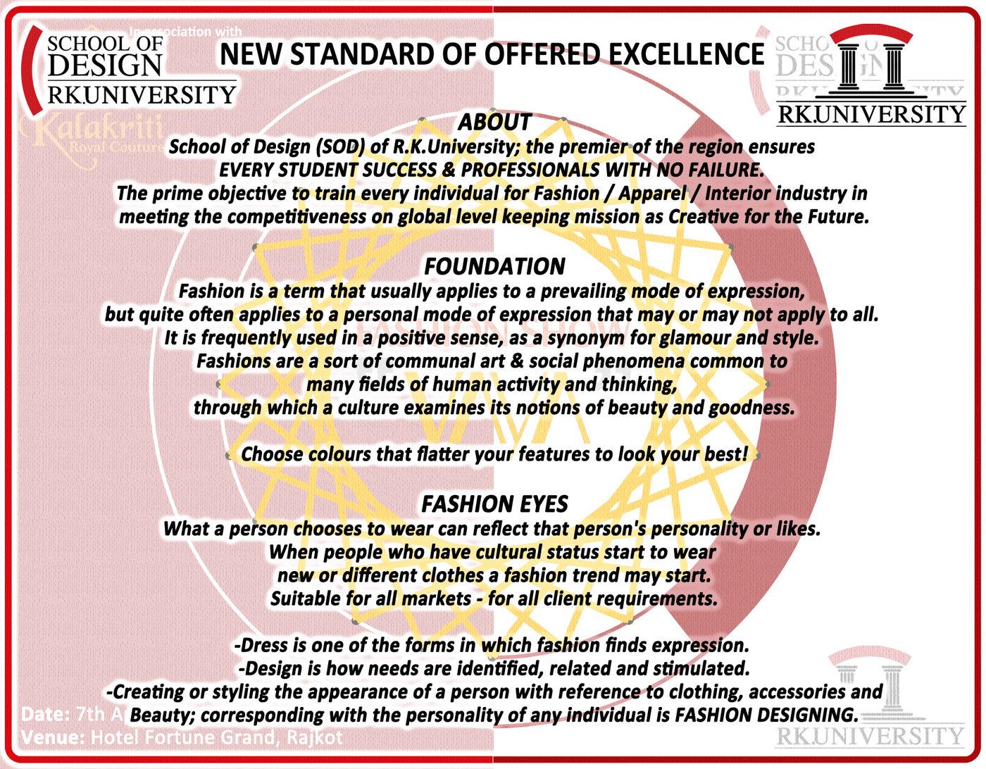 Vaya Fashion Show School Of Design R K University By Vishal Anand At Coroflot Com