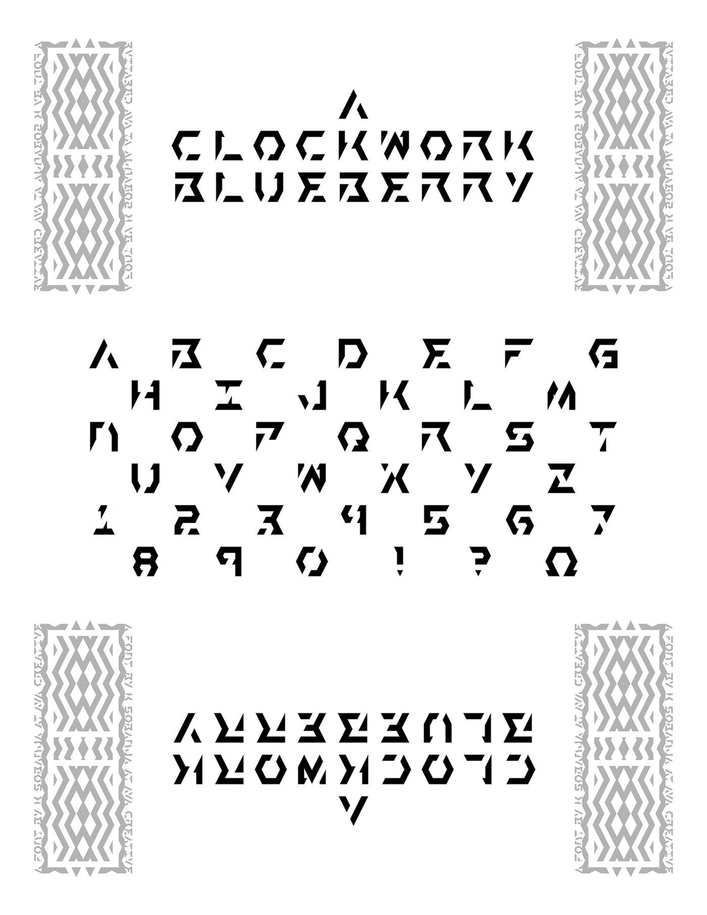 alphabets & type by K Sobanja - Ava Creative at Coroflot com