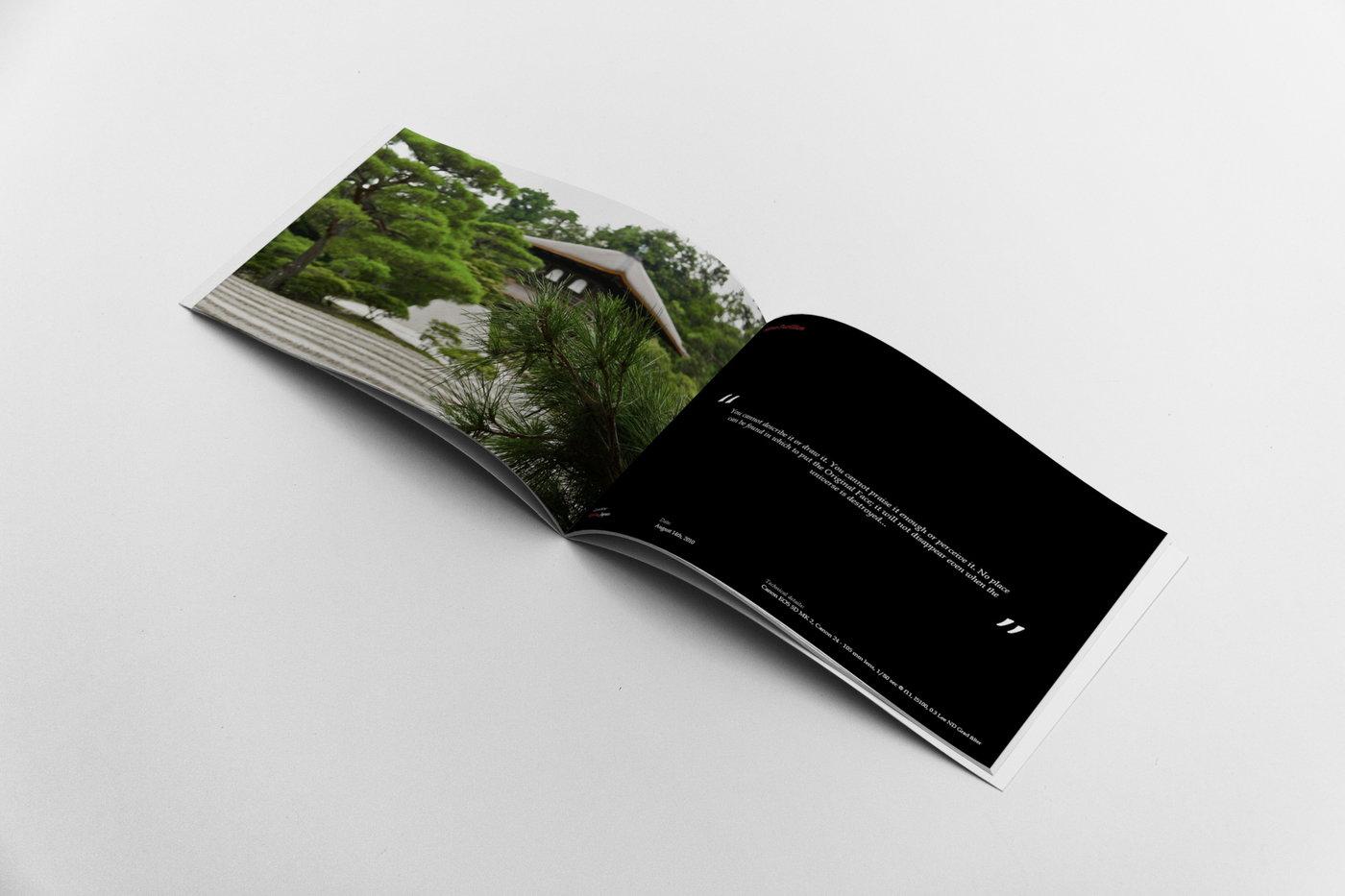 Photography Portfolio Template by Andrea Balzano at Coroflot com