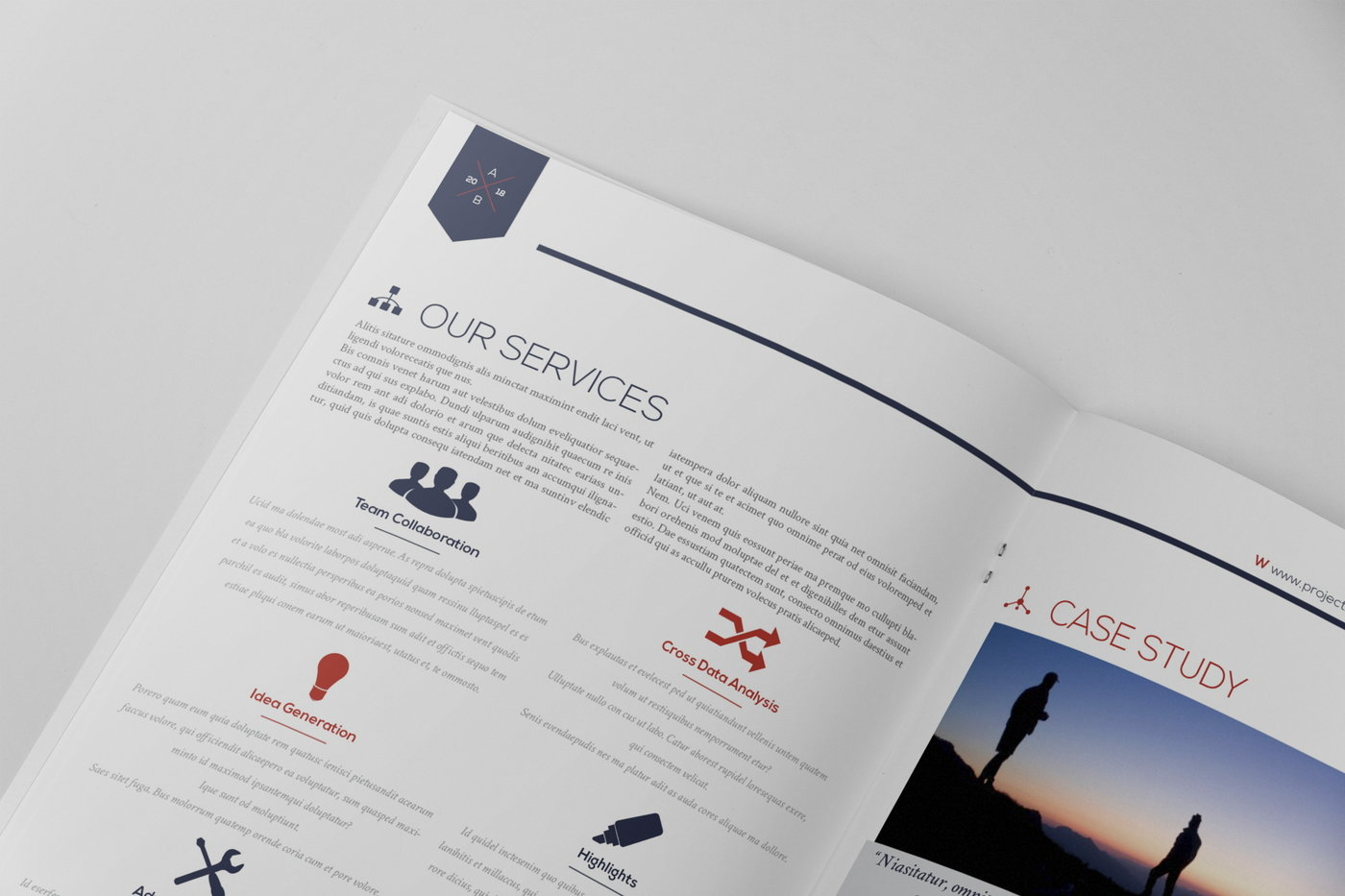 modern proposal contract invoice template by andrea balzano at