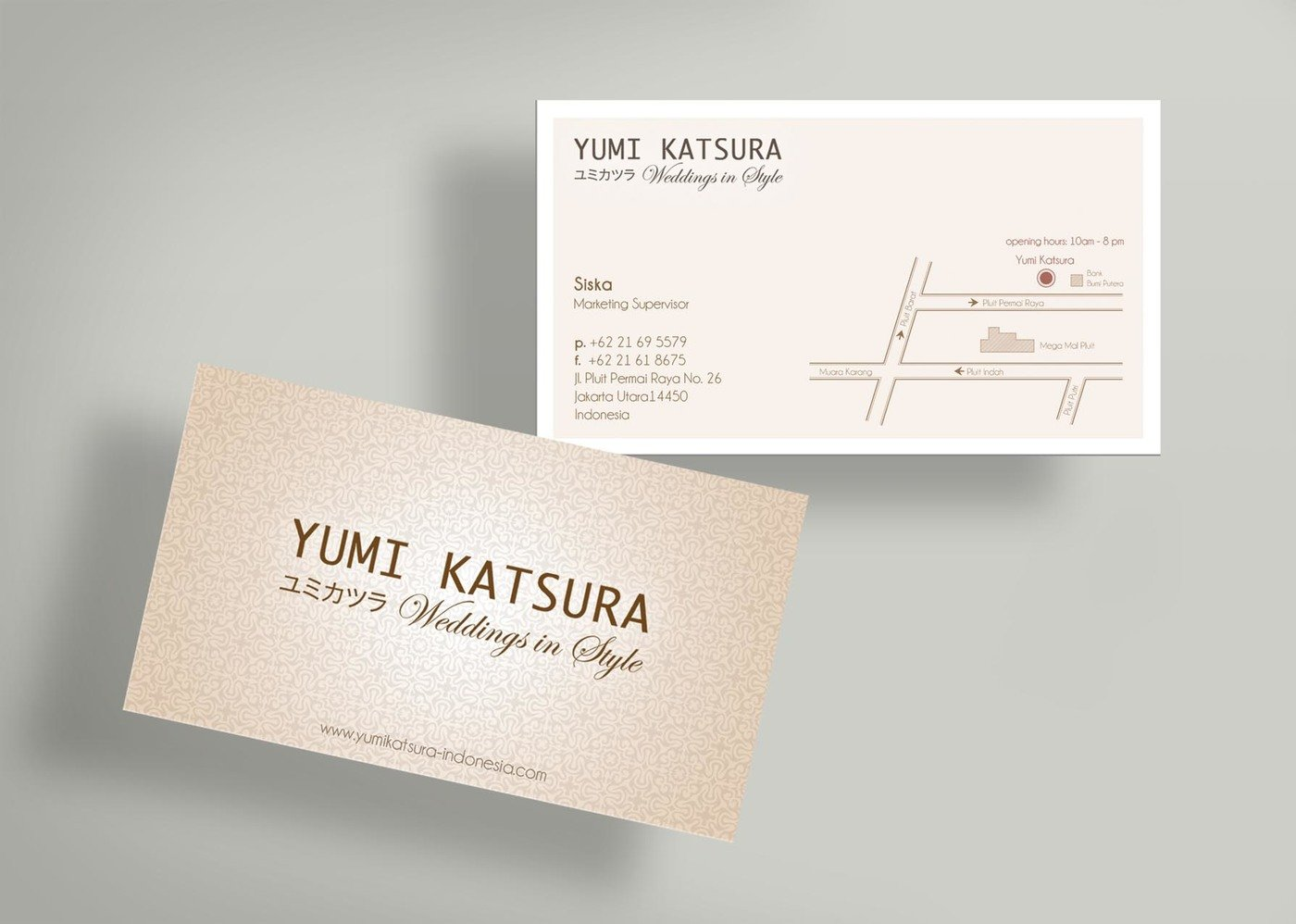 Finest Yumi Katsura - Business Card & Price Tag Design by Sherly Gunawan  OD84