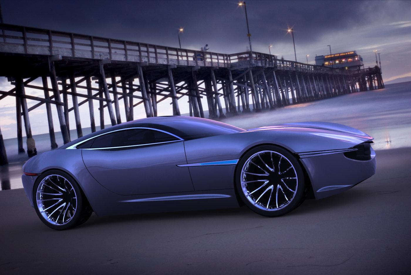 Jaguar XK Concept by Karl Sanders at Coroflot.com