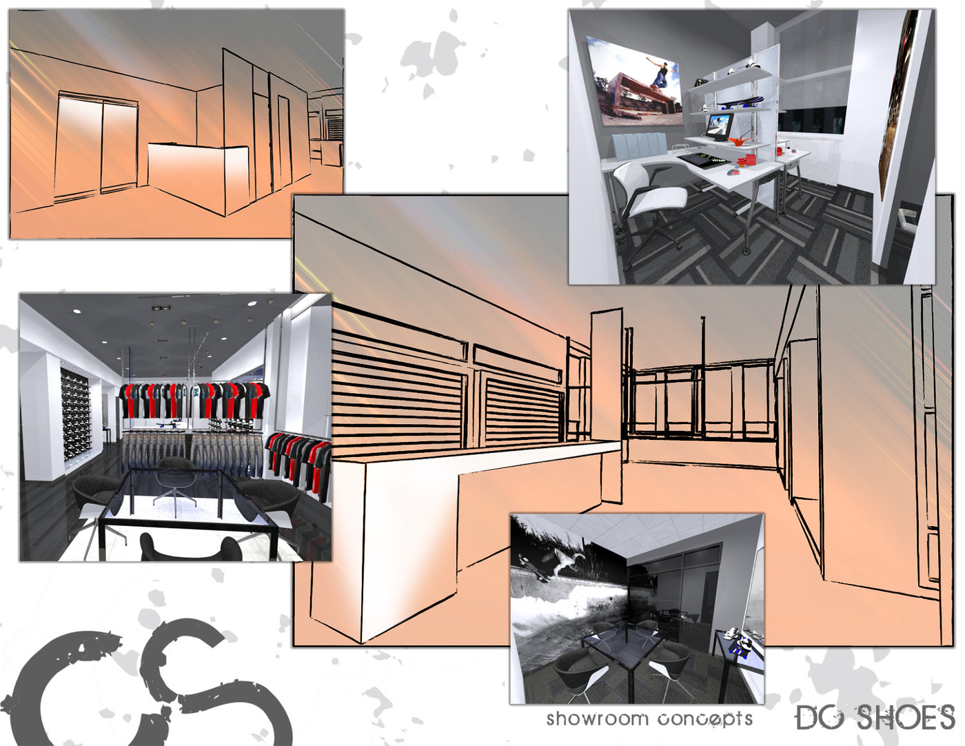 DC SHOES - SHOWROOM CONCEPT by Chris