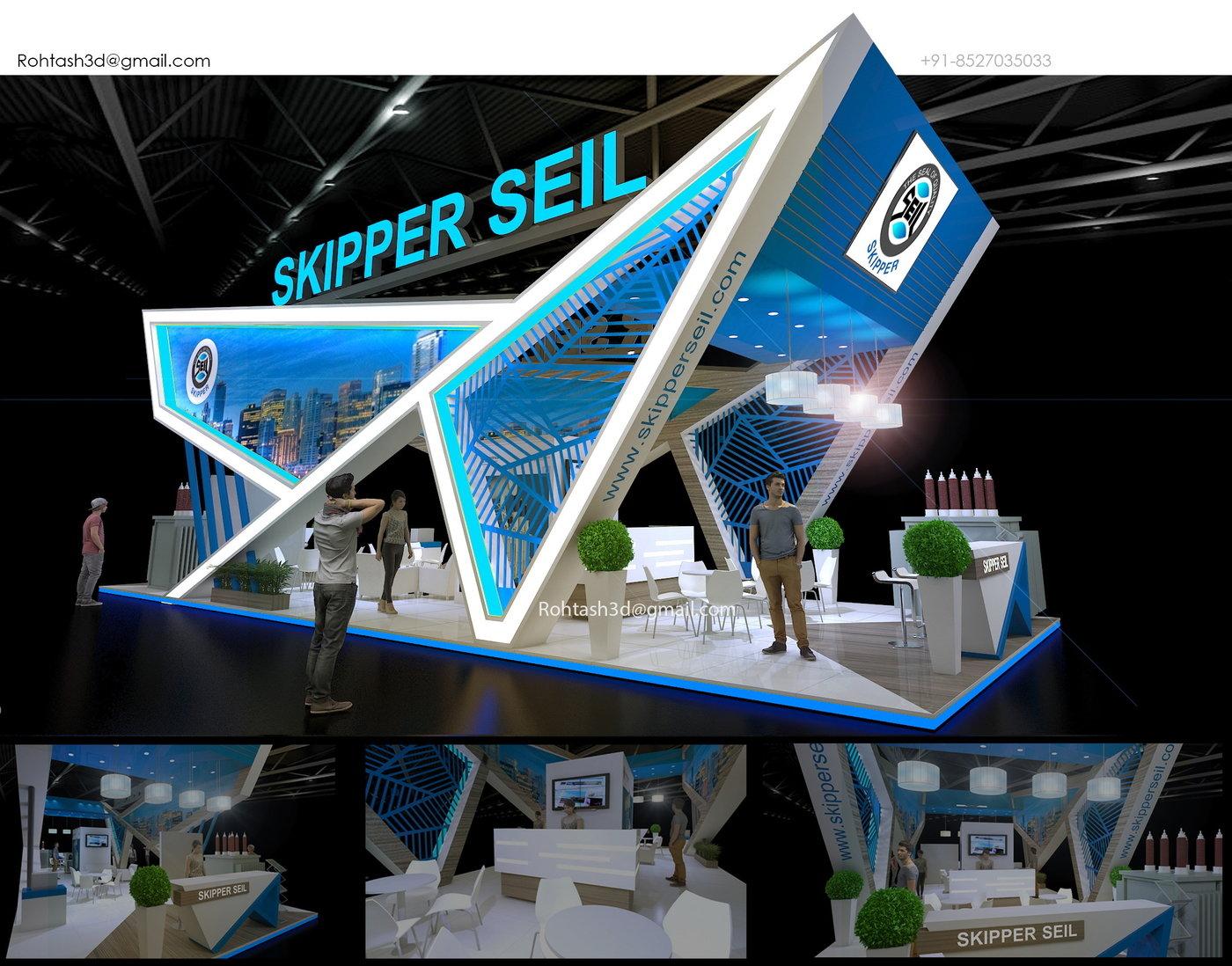 Food Exhibition Booth Design : Creative exhibition design idea by rohtash jangra at