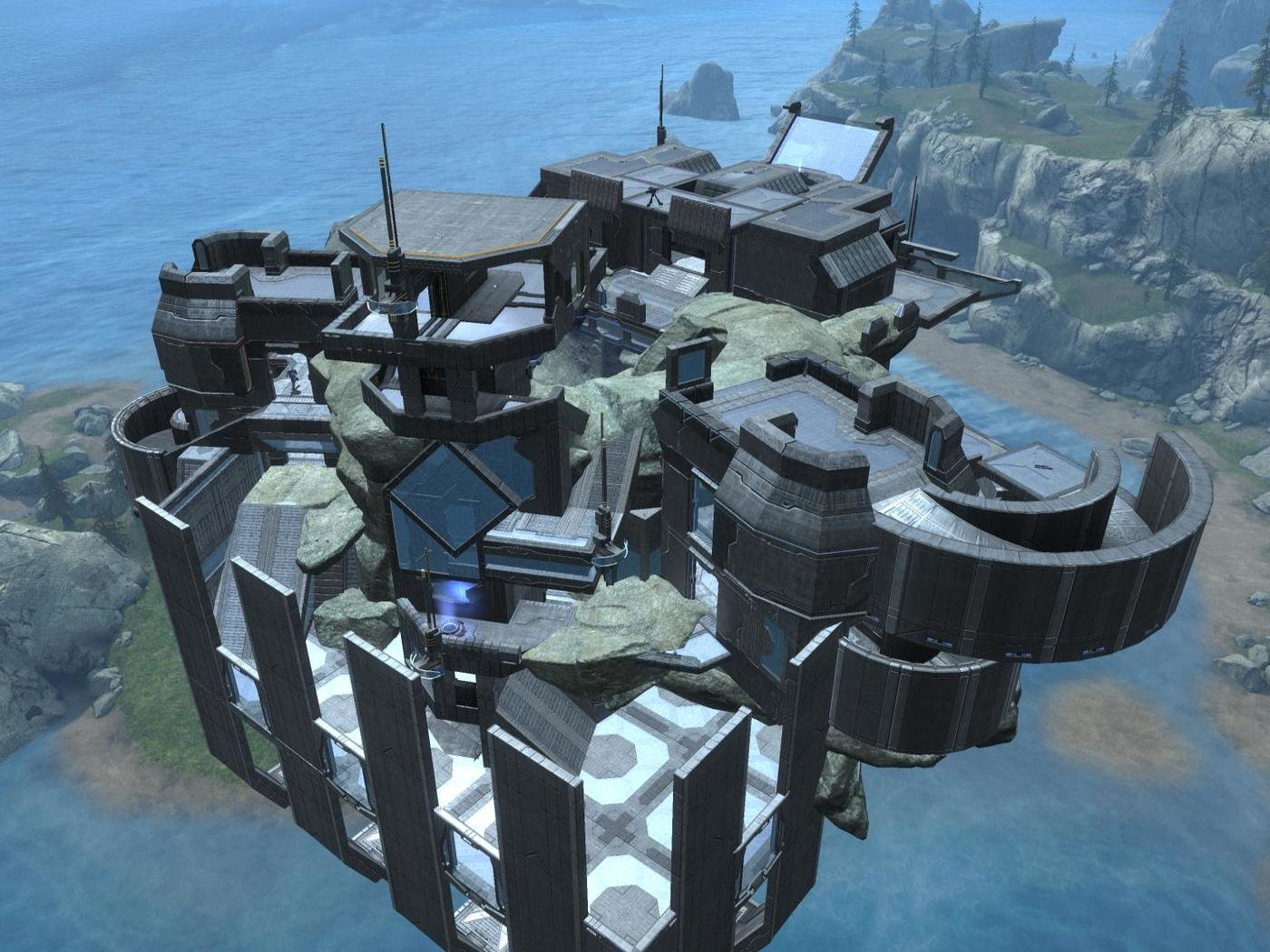 Halo: Reach Forge Map by Dylan Mayerchak at Coroflot com
