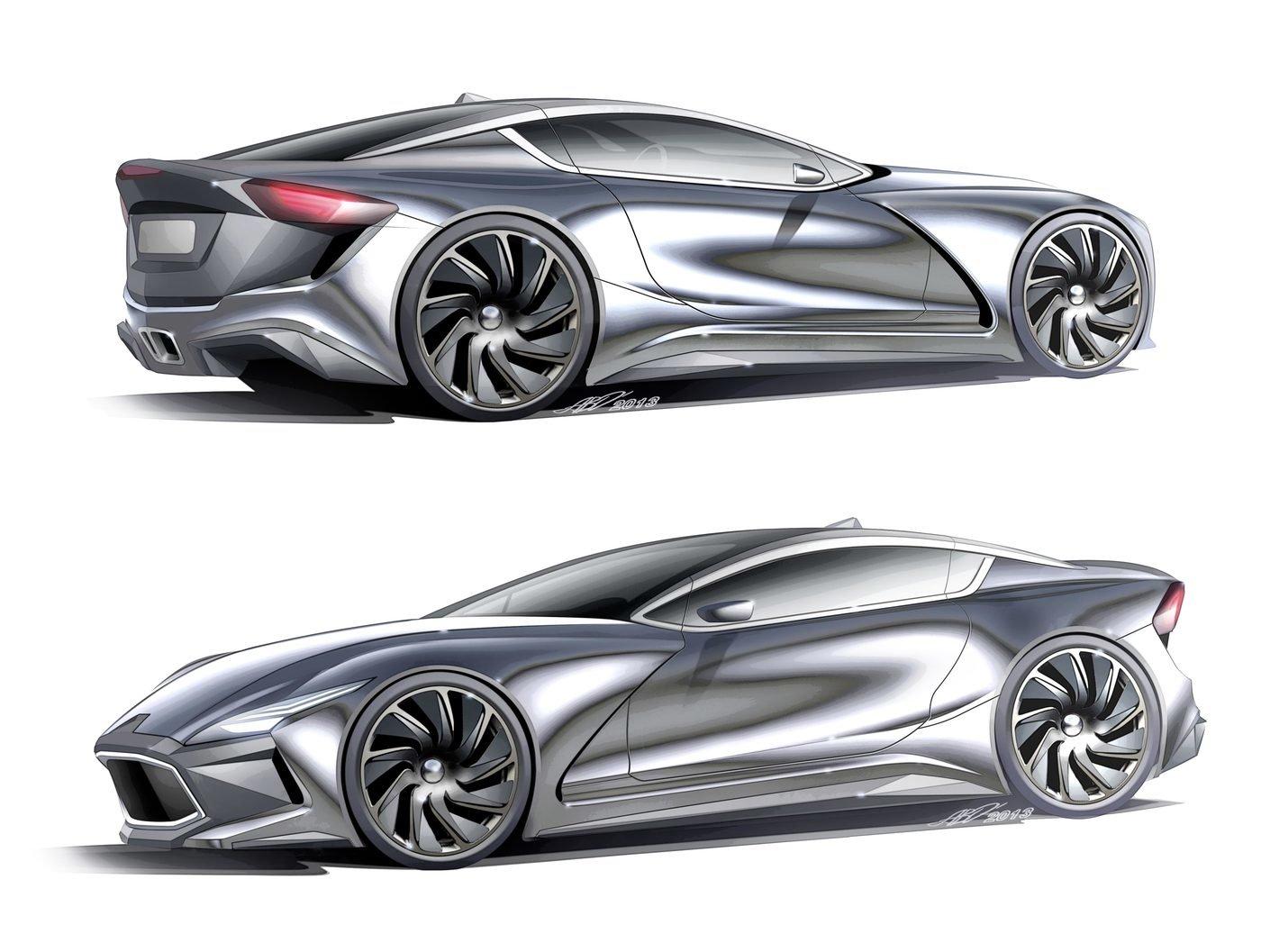 car renderings  alexander opanasenko  coroflotcom