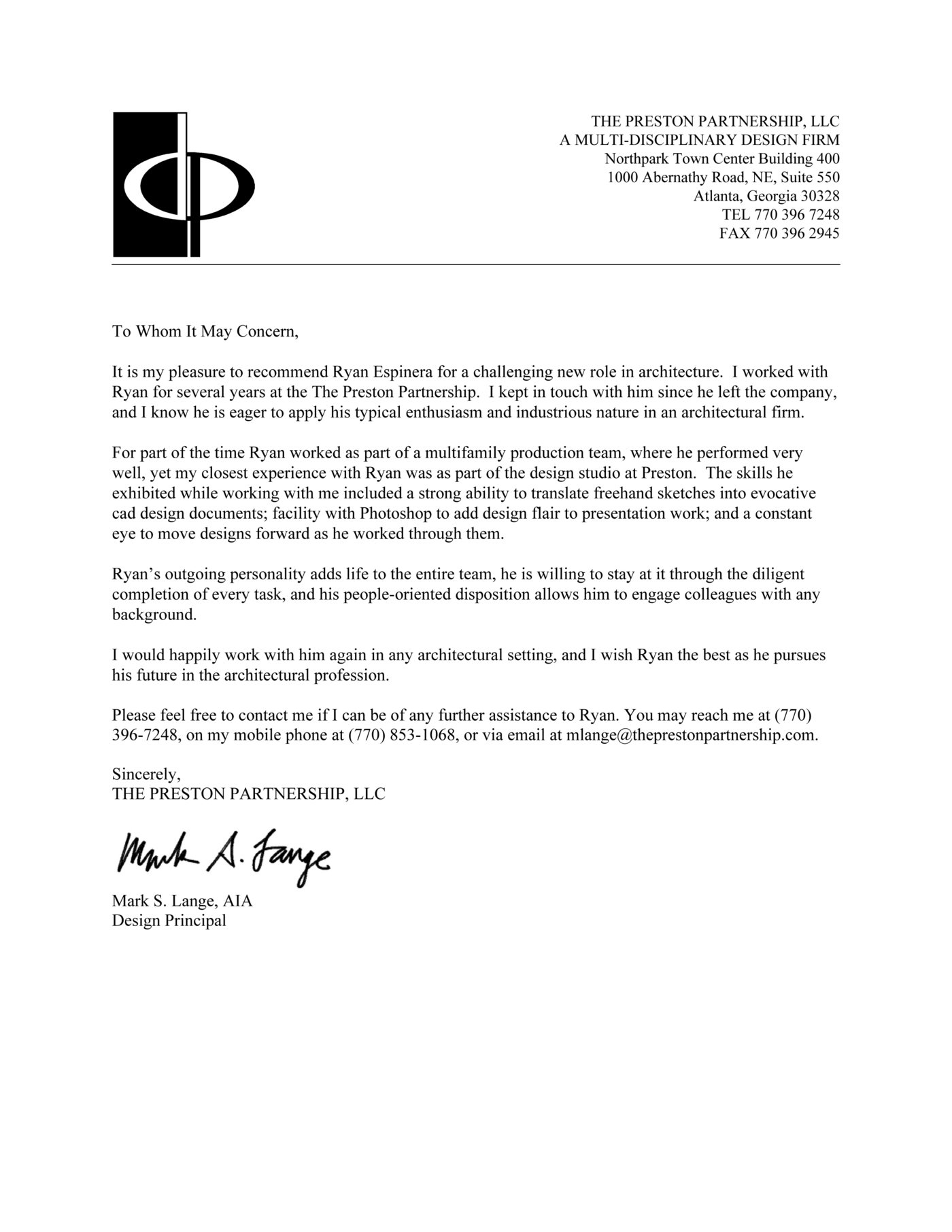 Letter Of Recommendation For Principal from s3images.coroflot.com
