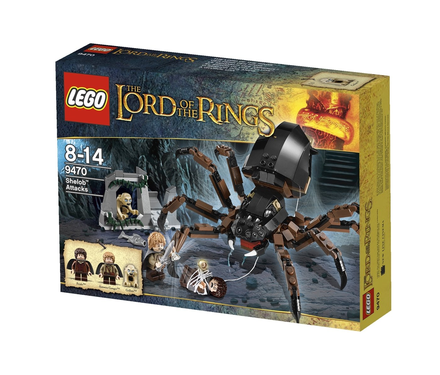 Lego Sets By Nicholas Groves At Skeleton Tower 7093 9470 Shelob Attacks