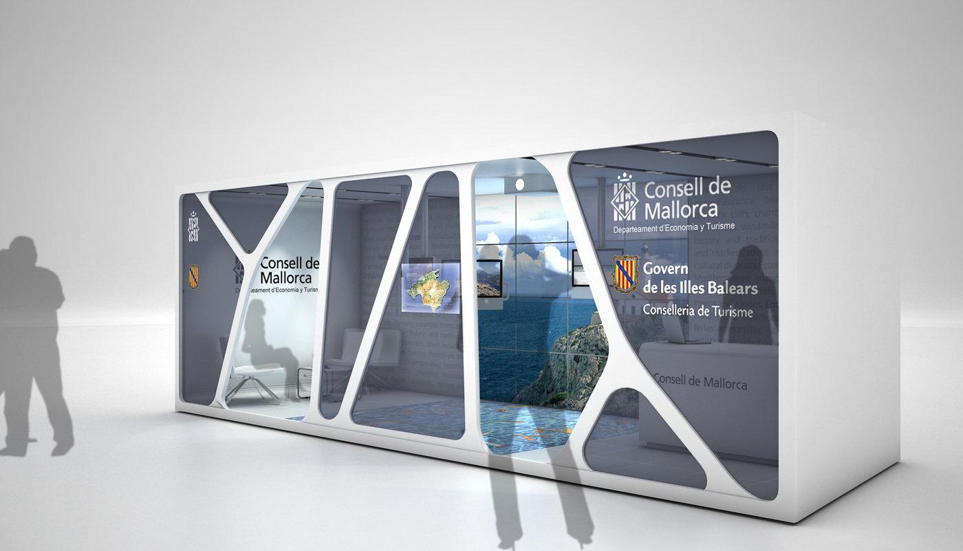 Trade Fair Stands Design : Euroshop stand d art design gruppe archdaily